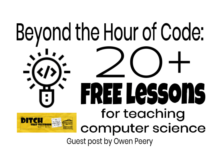 beyond the hour of code 20 free lessons for teaching computer