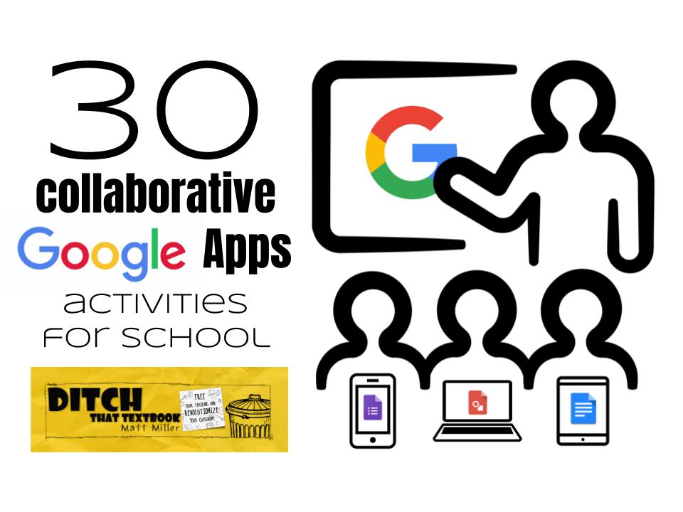 30 collaborative google apps activities