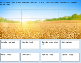 Little Red Hen Sequence Activity