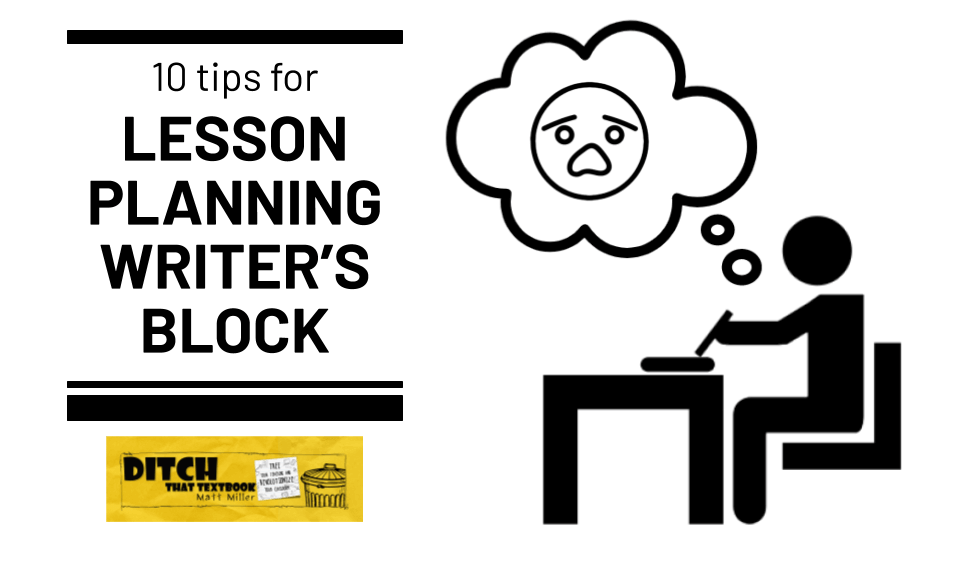 10 tips for lesson planning writer's block (1)