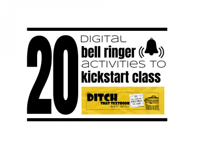 20 digital bell-ringer activities to kickstart class