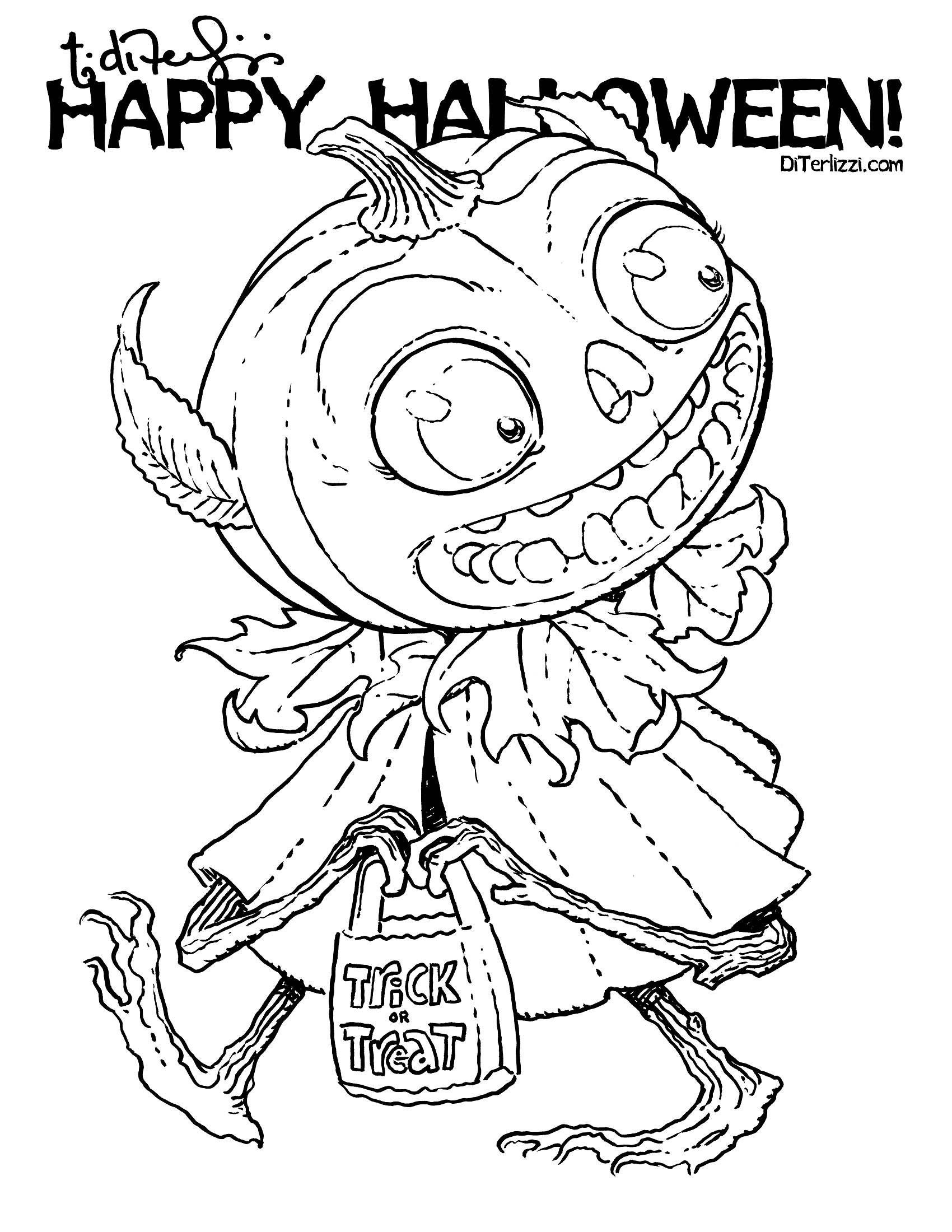 Halloween Coloring Coloring Book Pages And Vintage Halloween