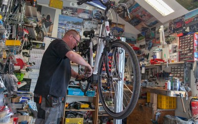 Fahrrad Knobloch Albersdorf