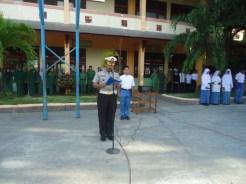 Kasi BPKB Kompol Edy Harahap menjadi Irup di MAN 1 Banda Aceh