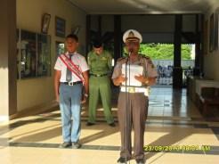 Kasubdit Gakkum AKBP H. AMIR DJADUN menjadi Irup di SMUN 4 Banda Aceh