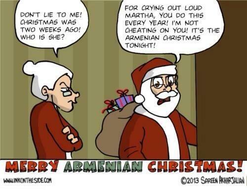 Merry Armenian Christmas