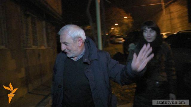 Armenia -- ANC deputy Aram Manukian attacked in Yerevan, 11Dec2014