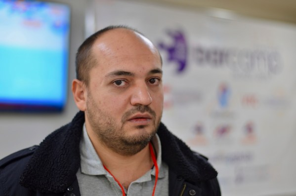 Armenia -- Vardan Papikian at Barcamp Vanadzor, 06Nov2016