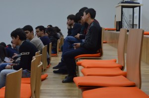Armenia -- The audience of Barcamp Vanadzor, 06Nov2016