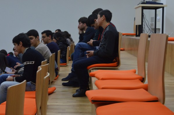 Armenia -- The audience of Barcamp Vanadzor, 06Nov2016