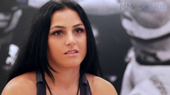 Karine Gevorgyan, Ultimate fighter from Armenia
