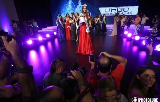 'Miss Armenia 2017' beauty contest took place at the National Academic Theatre of Opera and Ballet named after Al. Spendiaryan in Yerevan, Armenia