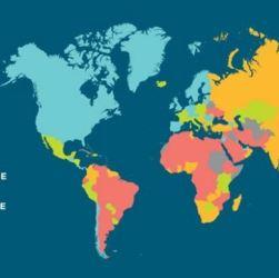 World Economic Freedom 2017 Map