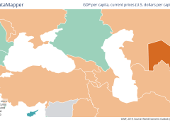 Armenia to surpass Azerbaijan and Georgia by GDP per capita. IMF