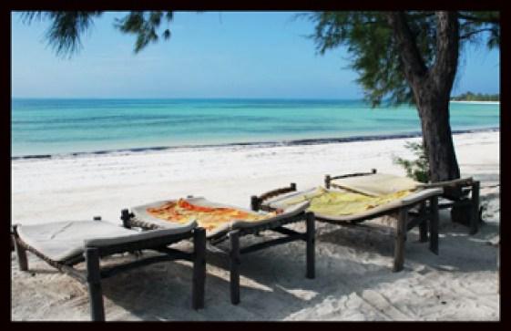 Å ligge i en solseng på Zanzibar etter en tur på Kili er optimalt for mange