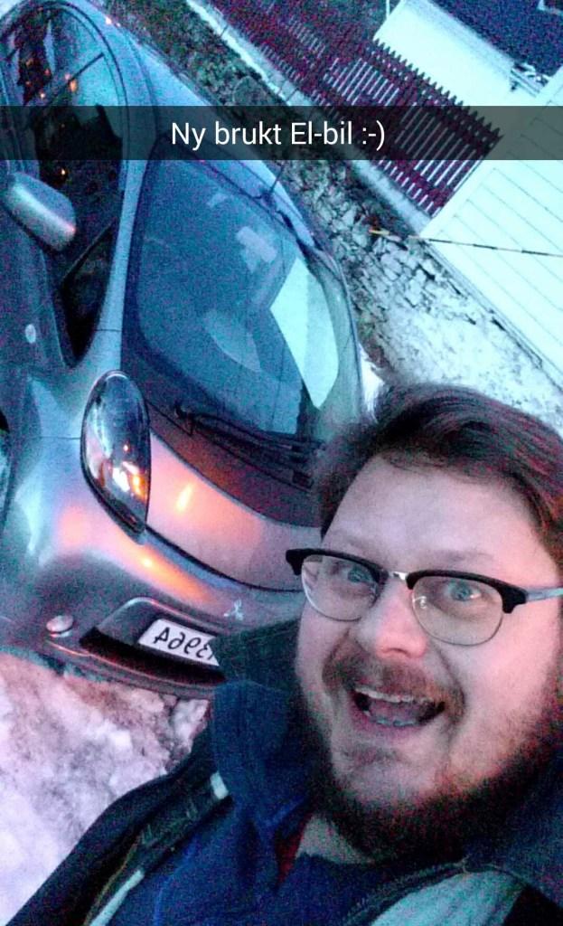 Kristian og el-bilen