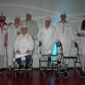 Der Vorstand des FC DIHE machte einen Ausflug ins Pflegeheim