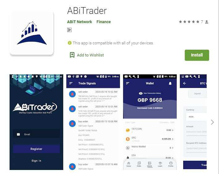 What is abitrader?