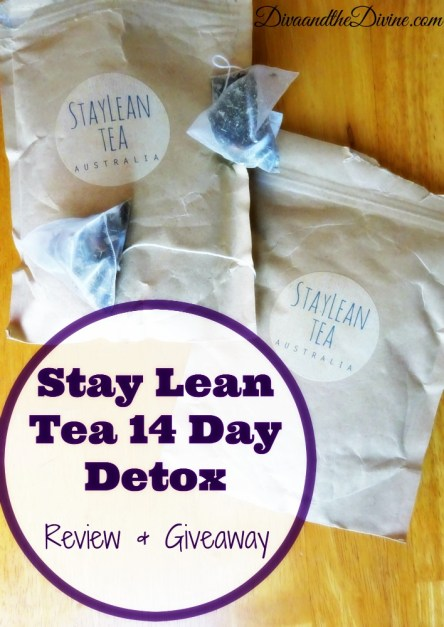 Stay Lean Tea 14 Day Detox Review- Finally, a tea detox that doesn't use laxatives.