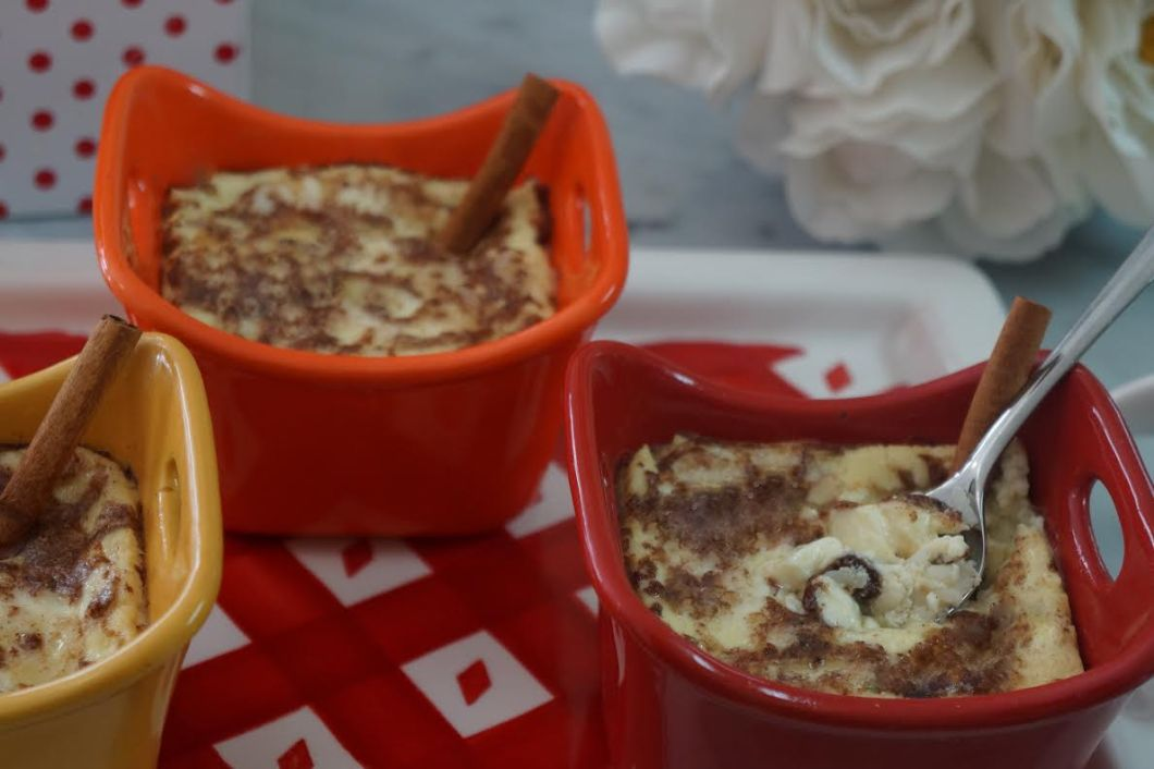 Baked Rice Or Quinoa Pudding By The Diabetic Pastry Chef