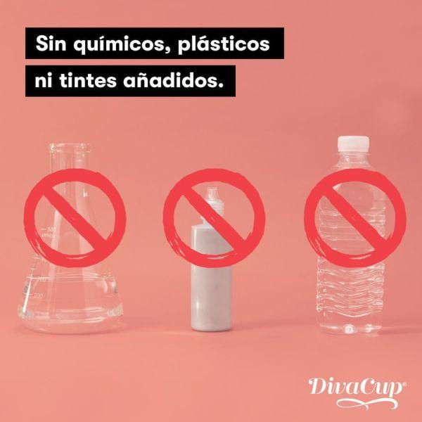 Sin químicos, plásticos ni colorantes añadidos.