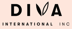 Diva International Inc Logo Negro
