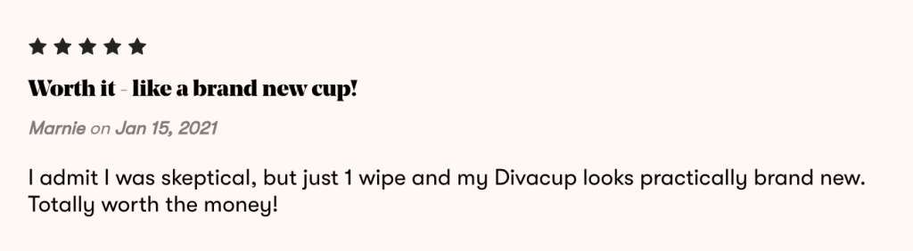 DivaWipes Review- How to clean your menstrual cup