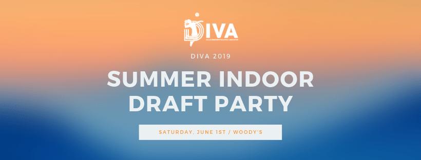 2019 Summer Indoor Draft Party