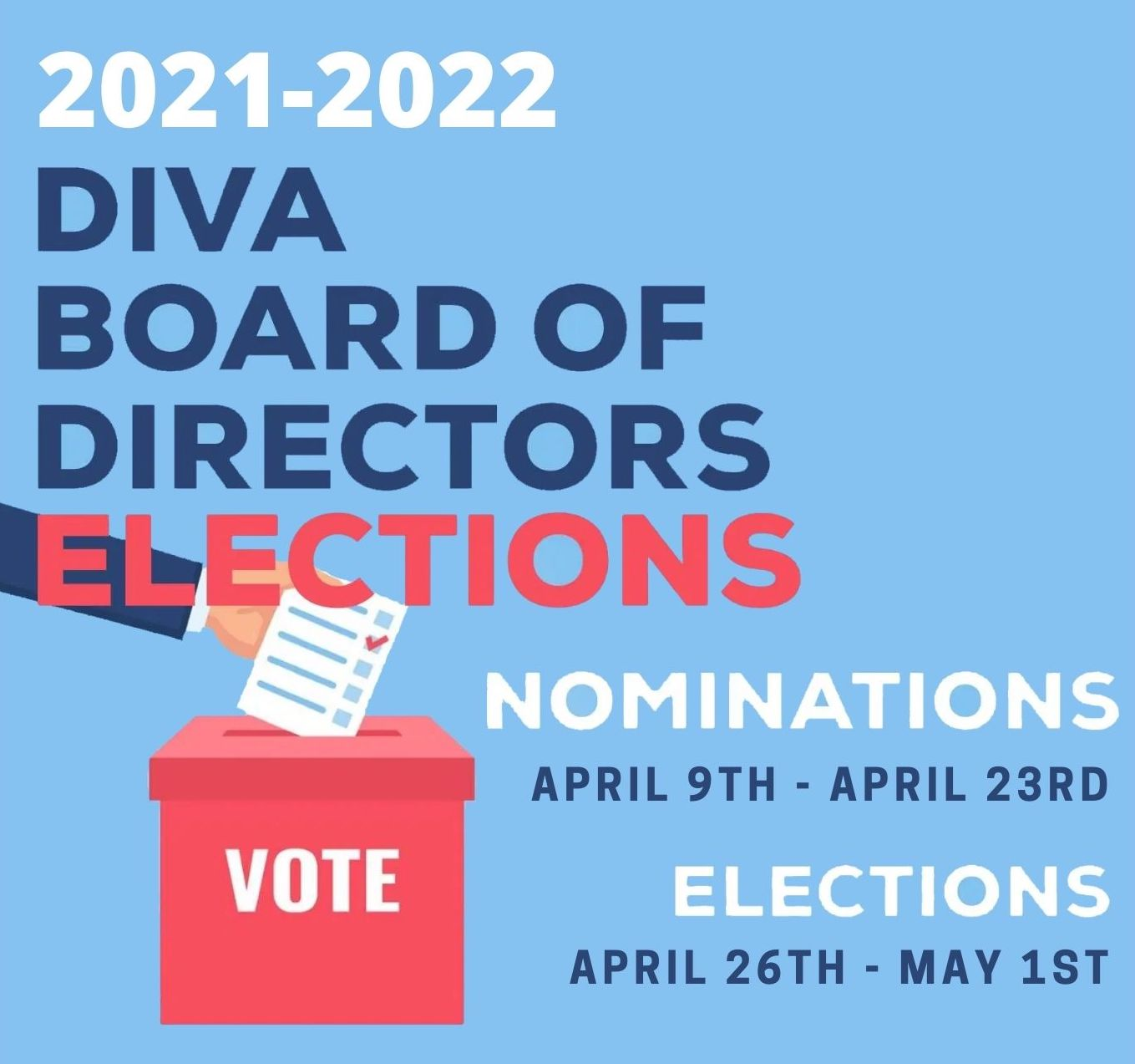 2021-2022 DIVA Board of Elections
