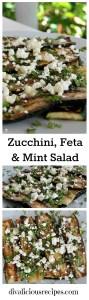 Zucchini, Feta & Mint Salad