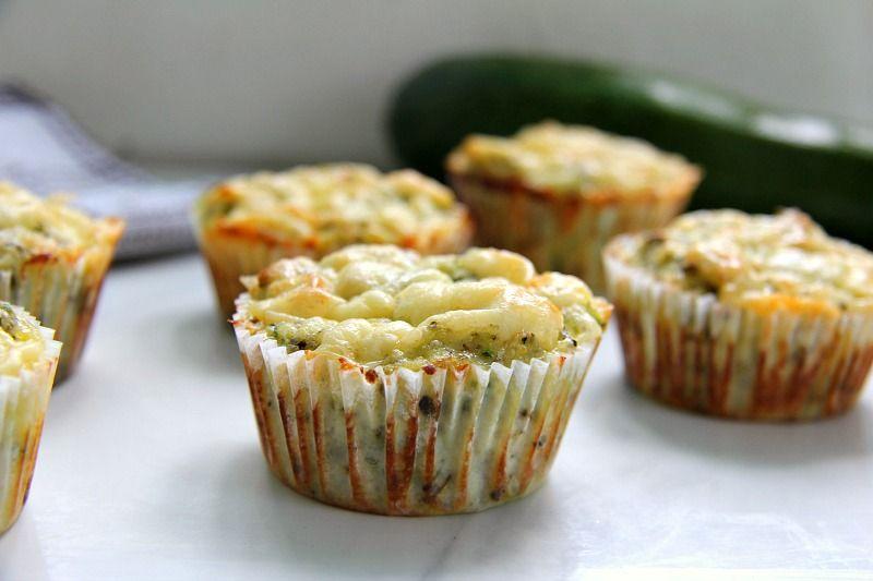 Keto Zucchini Cheese Muffins