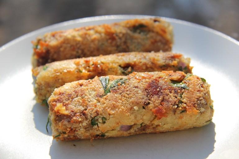 Vegetarian Cheese Sausage