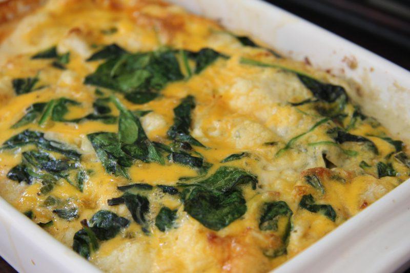 cauliflower-bluecheese-frittata