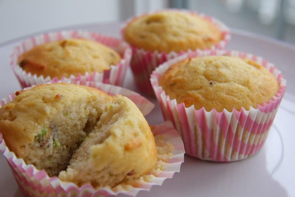 rosewater muffin