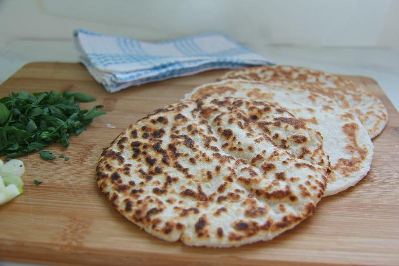 Coconut Flour & Psyllium Flatbread