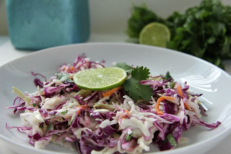 coleslaw lime coriander