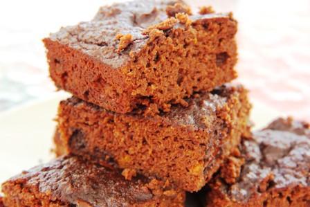chocolate orange brownie