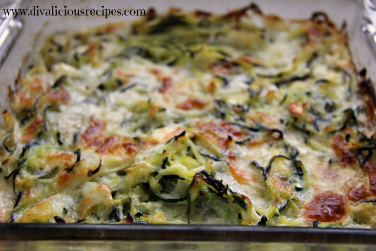 Zucchini Noodle, Feta & Thyme Bake by Angela Coleby ...
