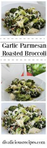garlic parmesan roasted broccoli