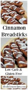 Cinnamon Breadsticks