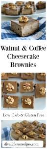 walnut coffee cheesecake brownies