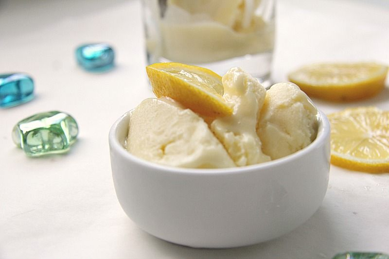 Lemon Curd Ice Cream