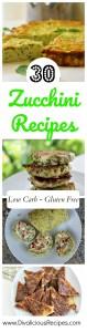 30 zucchini recipes