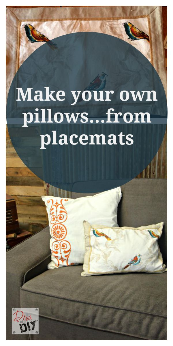 easy no sew throw pillows how to make