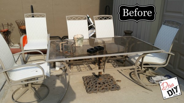 update your tired patio furniture