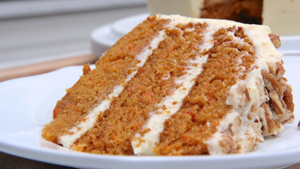 Grandma Barb s Easy Carrot Cake   Divas Can Cook I ve been hooked to my sister s carrot cake for a long time but I ve been  craving my grandma Barb s old fashioned carrot cake lately