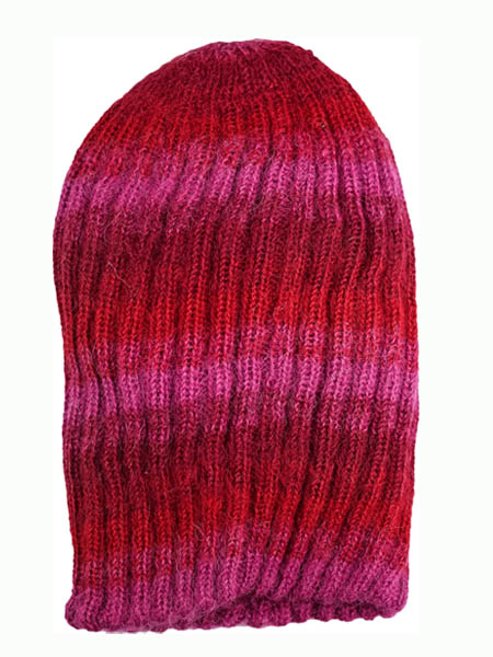 Awana Hat 100% Alpaca, Red, winter Hats for the whole family