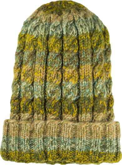 Olive Funky Hat,, Alpaca Blend winter Hats for the whole family