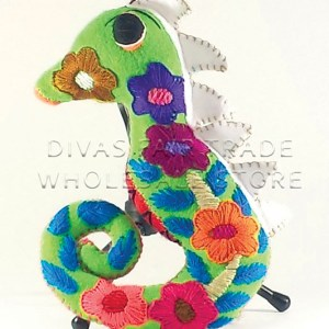 Seahorse - 100% Natural Wool Stuffed Toy Woolly Amigos