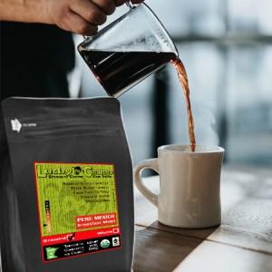 Fair Trade Organic Certified Breakfast Blend Coffee Medium Light Lucky Chango Specialty Coffee